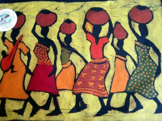 Batik 5 donne