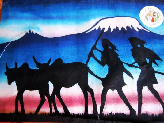 Batik 8 caccia