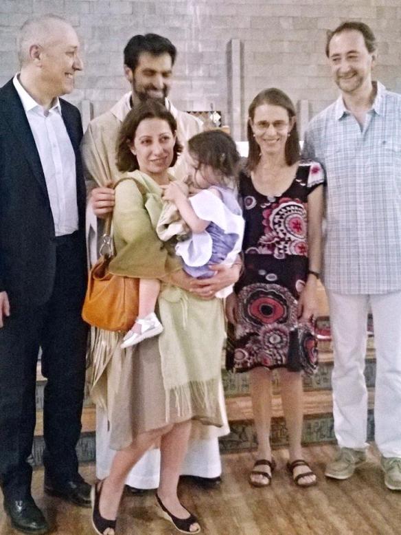 7 giugno 2015 Battesimo di Viola