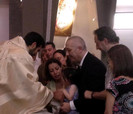 Battesimo di Viola 7 giugno 2015