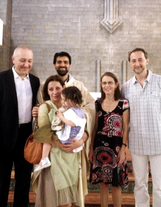 Battesimo di Viola foto di gruppo