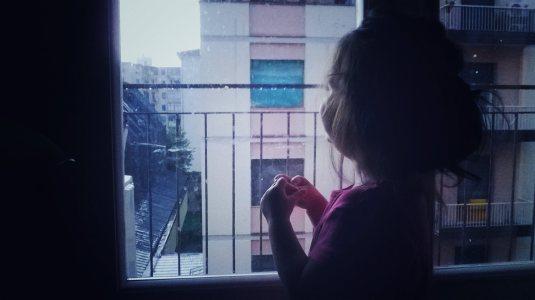 22 luglio 2015 Viola e la pioggia