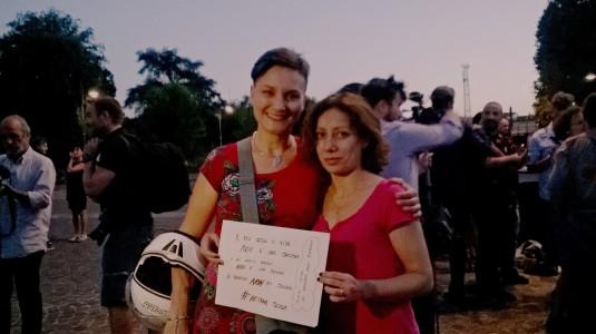 28.7.2015 Paola e Cate alla Fortezza