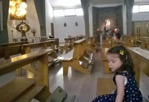 30 giugno 2015 Viola in chiesa