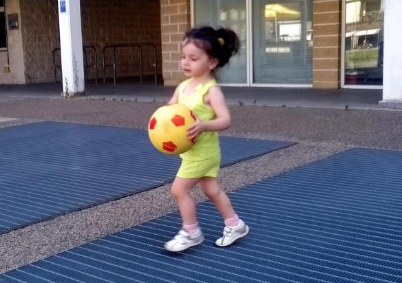 7 Viola e il pallone
