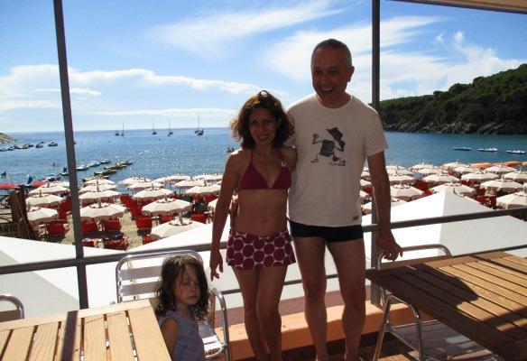 16.8.2015 terrazza del Pino Viola Cate e Sandro foto di Adri