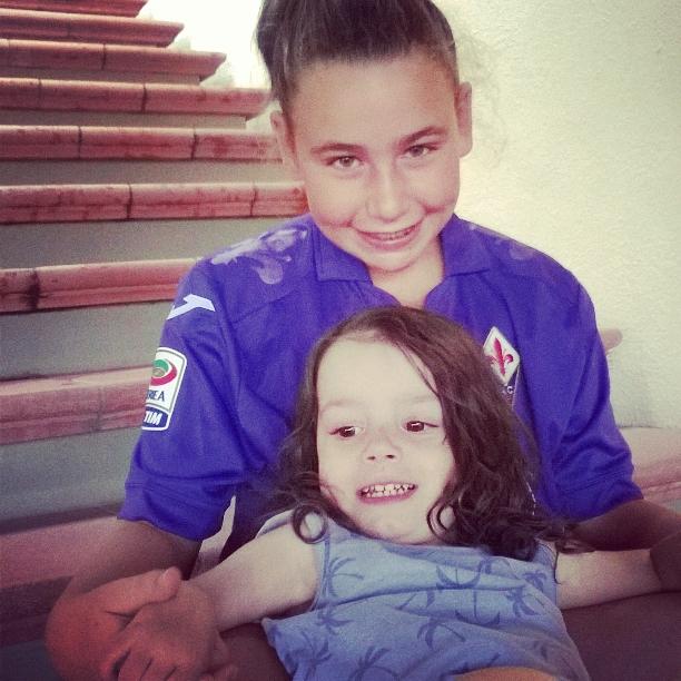 9 agosto 2015 Viola e Allegra