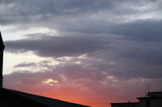 3 settembre 2015 nuvole al tramonto