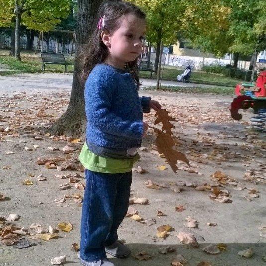26 ottobre 2015 con le foglie