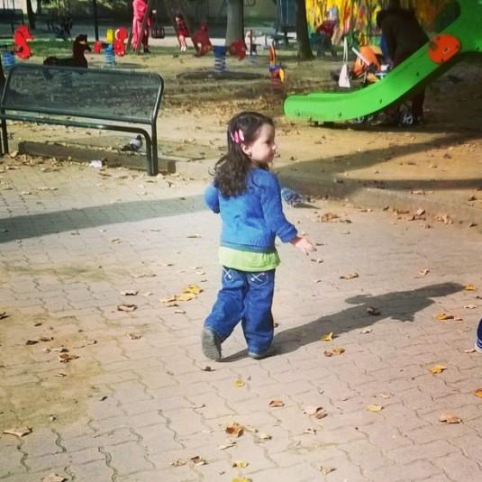 26 ottobre 2015 tra le foglie