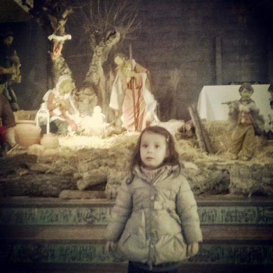 30.12.2015 Viola e il presepe