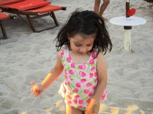 10 agosto 2016 Viola in spiaggia