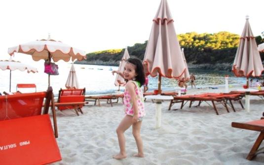 10 agosto 2016 Viola in spiaggia2