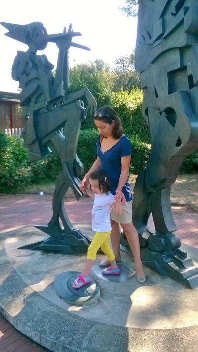 26 agosto 2016 con Viola al parco di Pinocchio