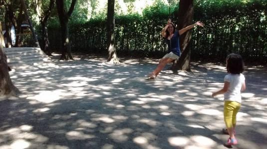 26 agosto 2016 gioco al parco di Pinocchio