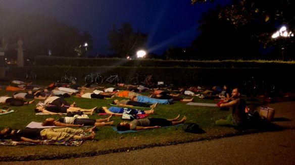 yoga alle Cascine foto di Lam Sadasiva