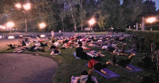 yoga alle Cascine