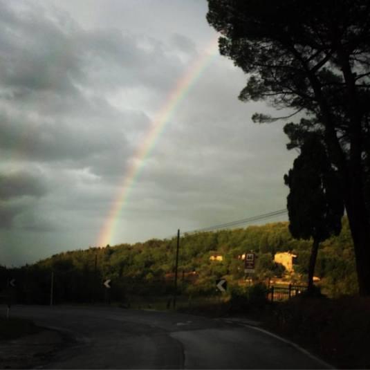 """""""Arco e baleno"""" foto di Pelle"""